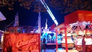 De kermis op het Burgemeester Winklerplein. (Foto Sliedrecht24)