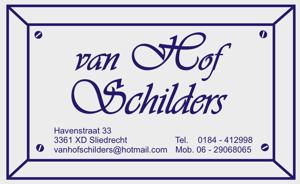 Van Hof Schilders 300 x 184