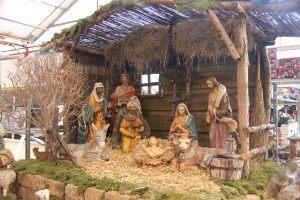 Wie Intratuin binnenstapt, krijgt direct de kerstgedachte mee. (Foto Martin Dekker / Sliedrecht24)