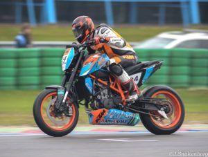 Djim Ulrich reed in West-Frankrijk de 2 laatste races van het seizoen. (Foto Team Ulrich)