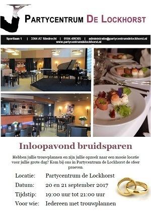 Partycentrum De Lockhorst Inloopavond bruidsparen