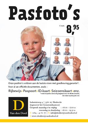 Van den Dool pasfoto's